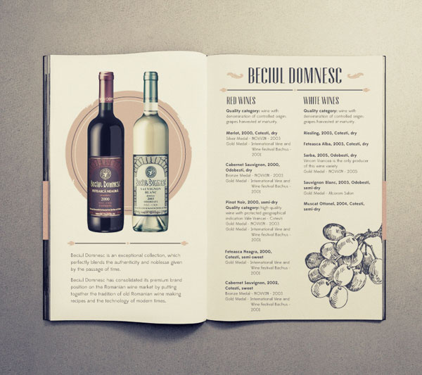 15 Awesome Retro Vintage Style Brochure Designs Web Graphic Design Bashooka