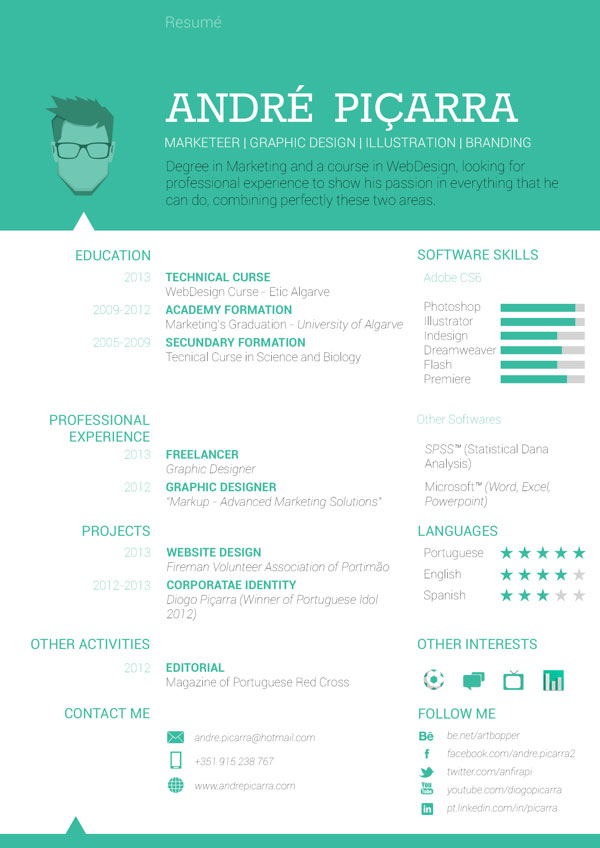 Graphic Design Resume Layout. Resume Layout Design Sample Graphic