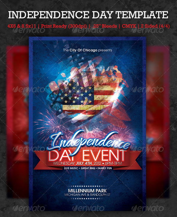 16 Amazing Independence Day PSD Flyer Templates Web Graphic Design Bashooka