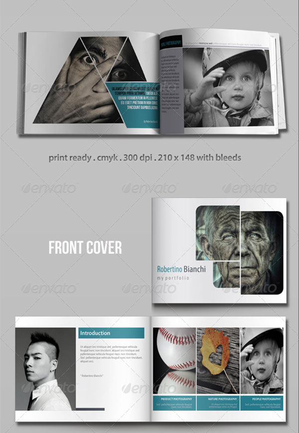 20 Awesome Indesign Amp Psd Photography Brochure Templates
