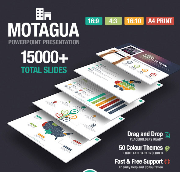 50 best powerpoint templates 2015 free web design tutorials motagua multipurpose powerpoint template toneelgroepblik Choice Image