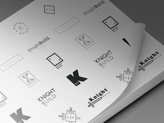 Knightbuild Branding Concpets