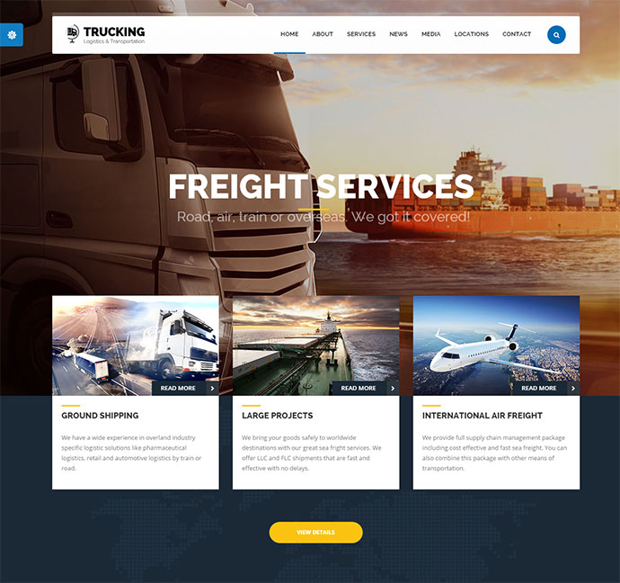 45 Best Corporate Amp Business HTML Website Design Templates Web Amp Graphic Design Bashooka