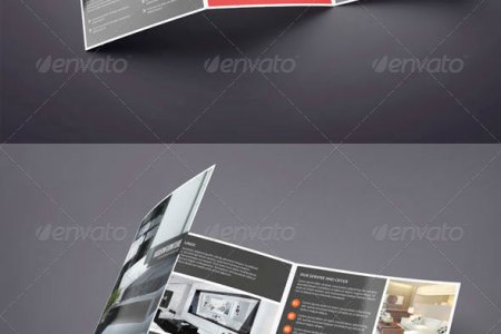 25 Top notch PSD Tri fold Brochure Templates For Business   Web     Square Trifold Brochure Interior Design