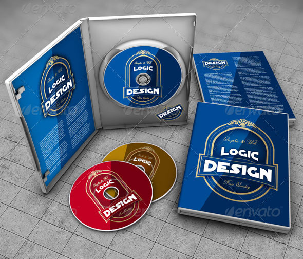 Download 25 Best PSD CD/DVD Cover Mockup Templates - Bashooka