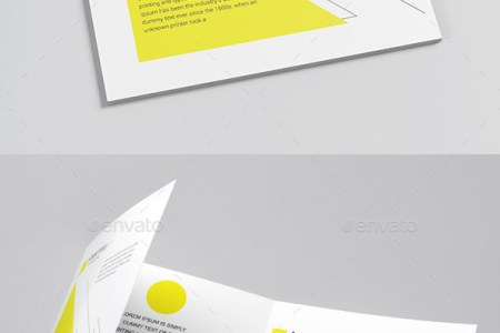 50 Top PSD Brochure Template Designs 2016   Web   Graphic Design     Flyer Template Engineering Yellow