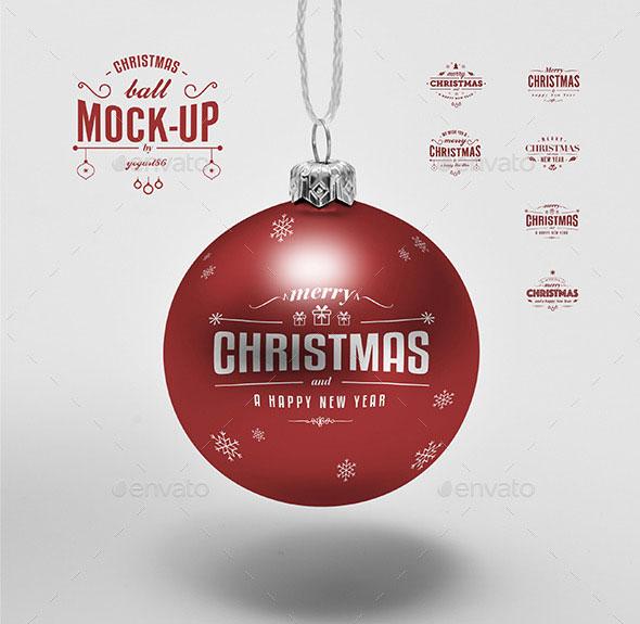 25 Best Christmas Mockup PSD Templates 2019 Web