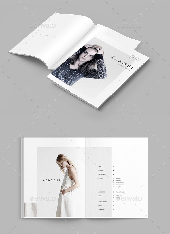20 Gorgeous InDesign Lookbook Template Designs Web Amp Graphic Design Bashooka