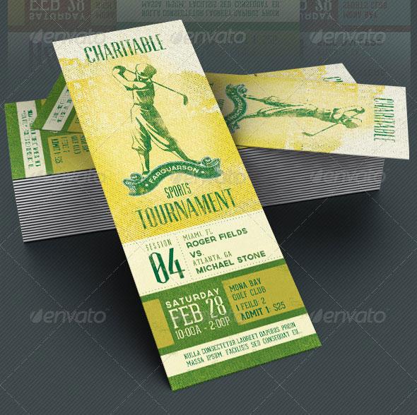 25 Awesome PSD Ticket Invitation Design Templates Web