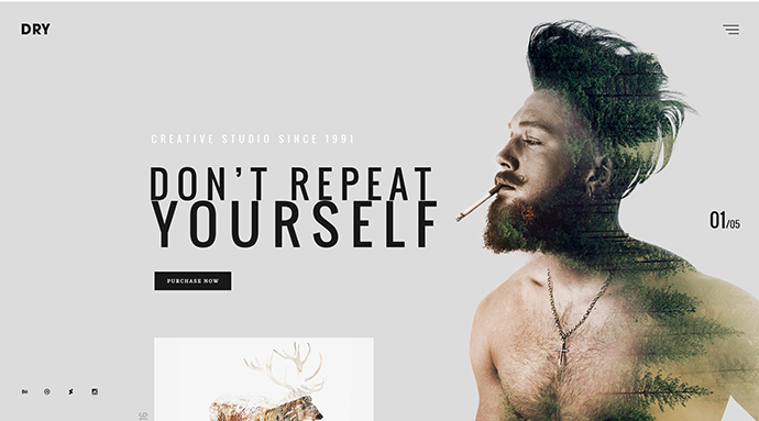 DRY - Modern & Creative Multiconcept Theme