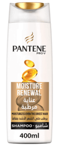 شامبو بانتين برو للشعر الجافPantene Pro-V Moisture Renewal Shampoo 400 ml