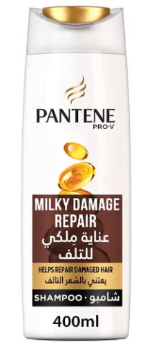 شامبو ملكي لاصلاح التلف من بانتينPantene Pro-V Milky Damage Repair Shampoo