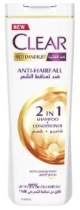 شاميو وبلسم كلير للنساء ضد القشرة وتساقط الشعر Clear Women's Anti-Dandruff Shampoo Anti-Hair Fall