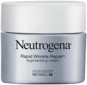 كريمنيوتروجينابالريتينول لتعزيز خلايا الوجهNeutrogena Rapid Wrinkle Repair Retinol