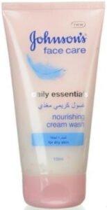 غسول جونسون للبشرة الجافة johnson's face care daily essentials for daily skin