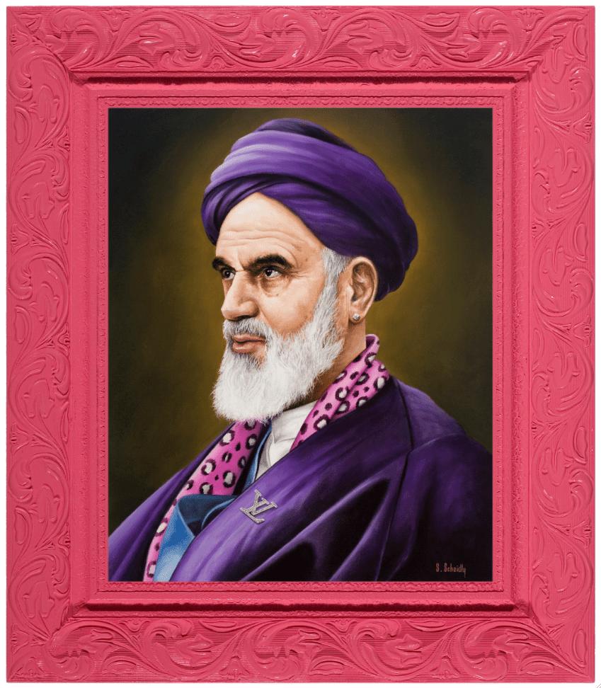 Scott Scheidly - Ayatollah Khomeini basic magazine