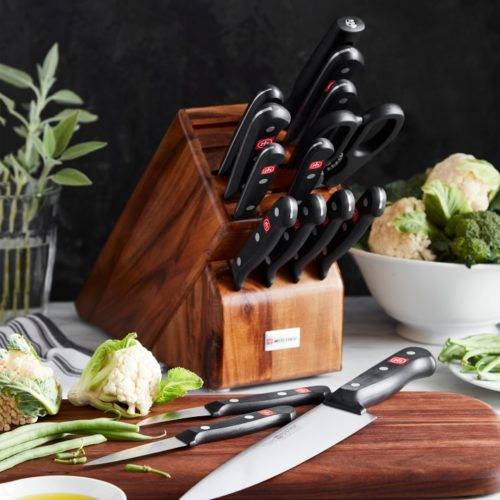 wusthof gourmet 16 piece knife set