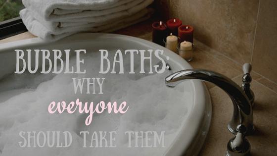 bubble baths everyone should take