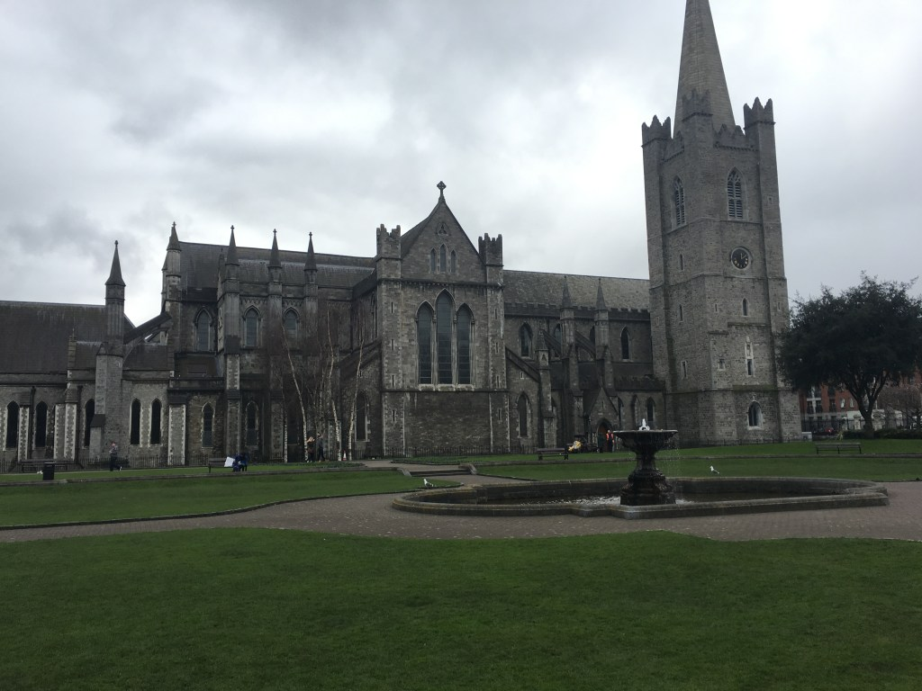 castle in dublin Ireland