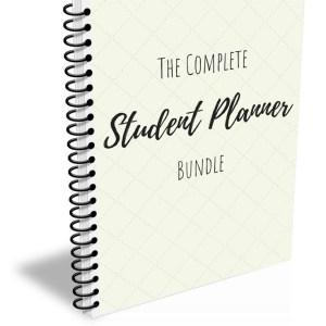 Bundle student planner Cover