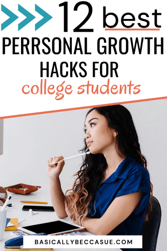 Here are the absolute best personal growth activities for college students! I wish I had this when I was in school