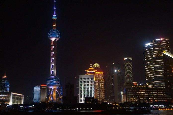 Oriental Pearl Tower from Bund