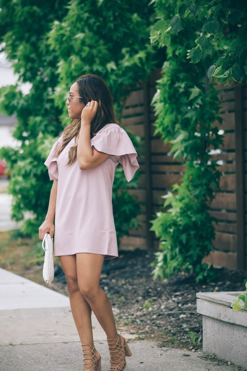 Ruffle Dress ASOS