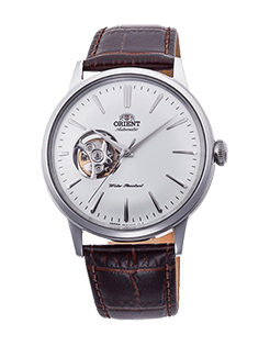 Orient Bambino Open Heart - White dial - Stainless Steel Case RA-AG0002S10A
