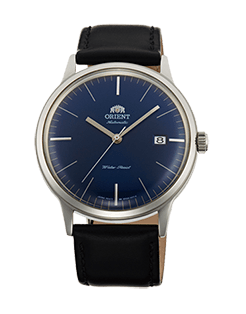 Orient Bambino Gen 2 Version 3 - Blue dial with stainless steel case - Model number FAC0000DD0