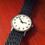 Clockwork Synergy Black Double Braided Perlon Strap