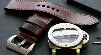 Burgundy Butter Watch Strap by Toshi Straps