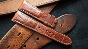Two One Four Straps - Brown Watch strap2