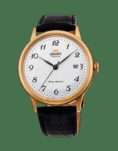 Orient Bambino Version 5 - White dial - Gold Case - RA-AC0002S10A