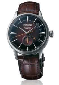 Seiko Presage Cocktail Time -Black Dial Power Reserve - SSA393