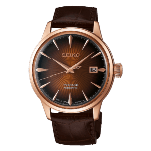 Seiko Presage Cocktail Time - Manhattan - Gold Case - Brown Dial - SRPB46J1 or SARY078