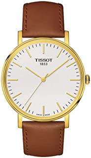 Tissot Everytime Gold Case White Dial