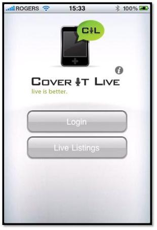 cover it live for iPhone