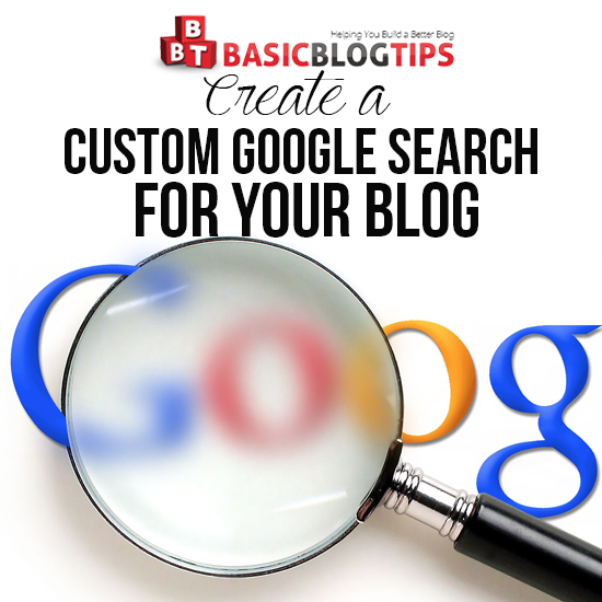 Create a Custom Google Adsense for Search on Your Blog