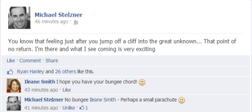 Mike Stelzner on Facebook