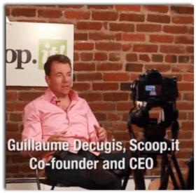Guillaume Decugis SEO Scoopit