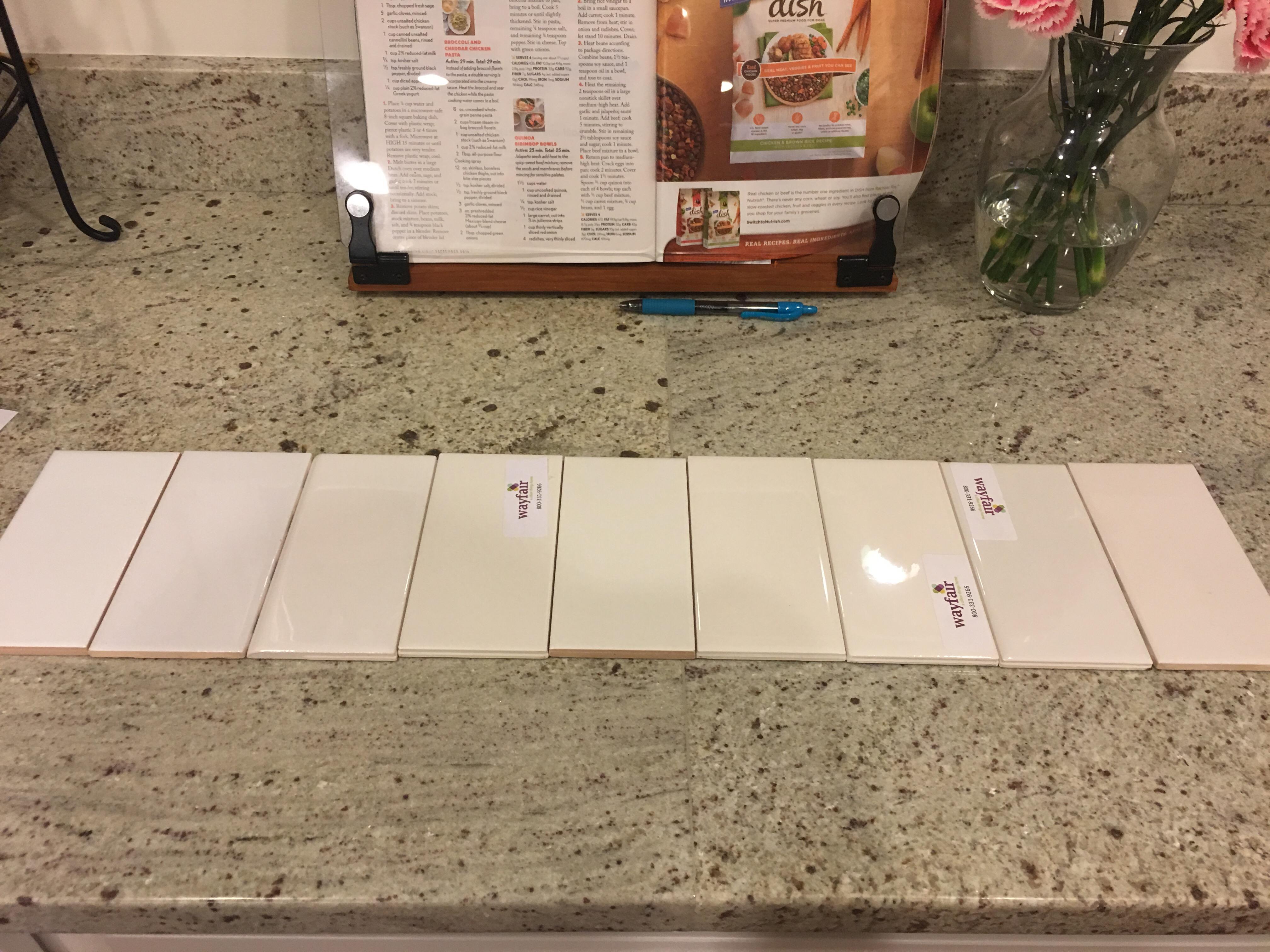 picking the perfect white subway tile
