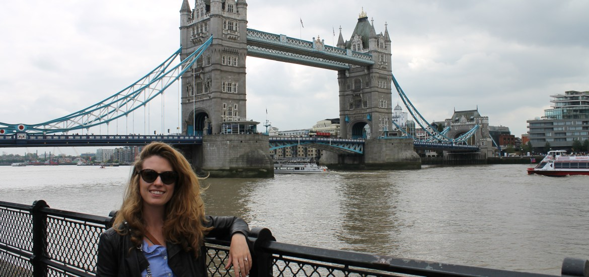 i'm a londoner now, posing with Tower Bridge, like no Londoner would ever do...