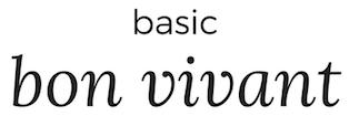 Basic Bon Vivant Title