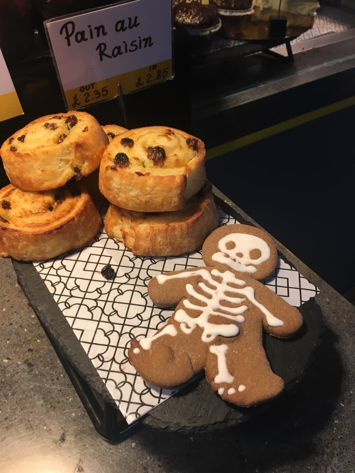 gluten free skeleton cookie from beyond bread in london