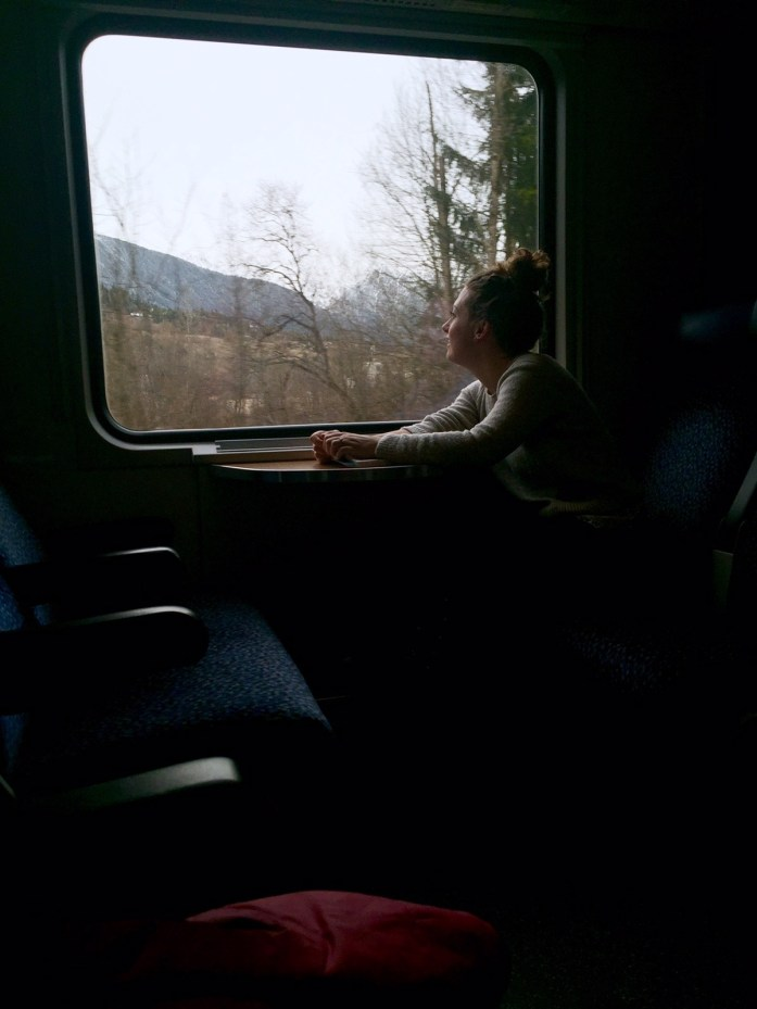 Train ride to St Anton