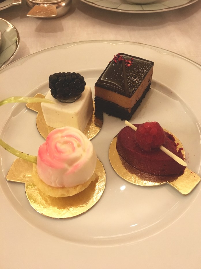 Gluten Free Afternoon Tea in London at the Dorchester