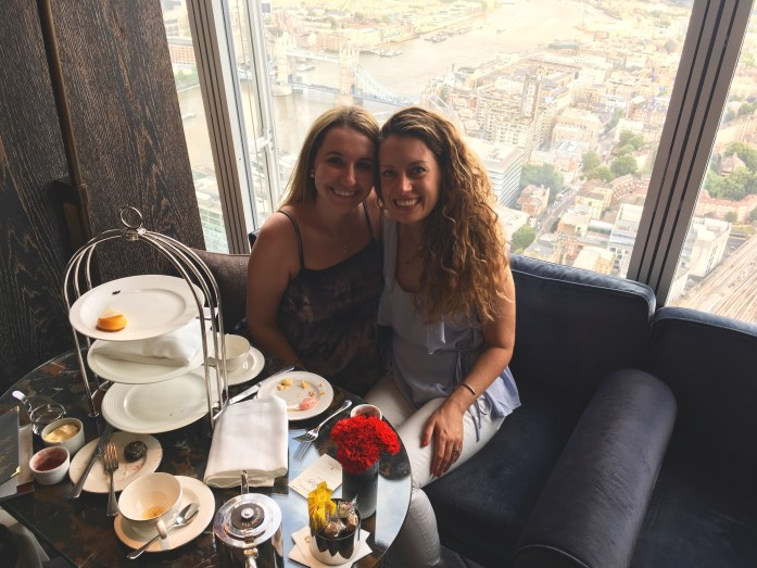 Gluten Free Afternoon Tea in London at Gong At the Shard