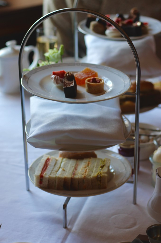 THE Best gluten-free afternoon tea in London at the Library Lounge