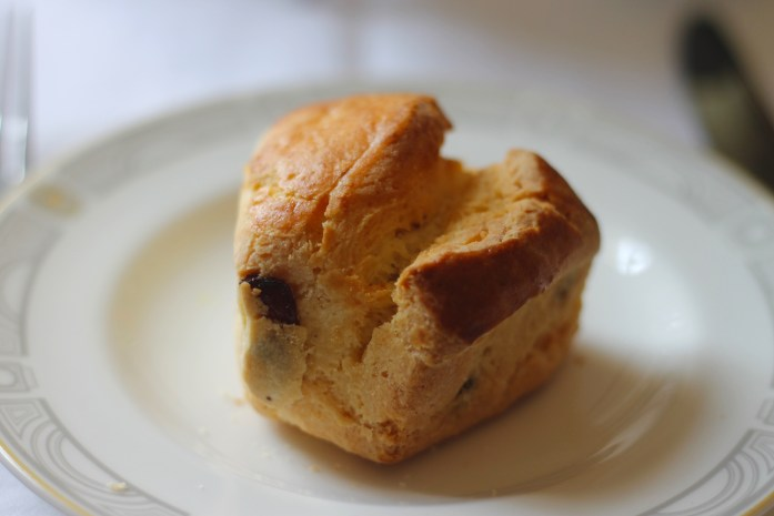 The best gluten-free scone in London: Library Lounge Afternoon Tea