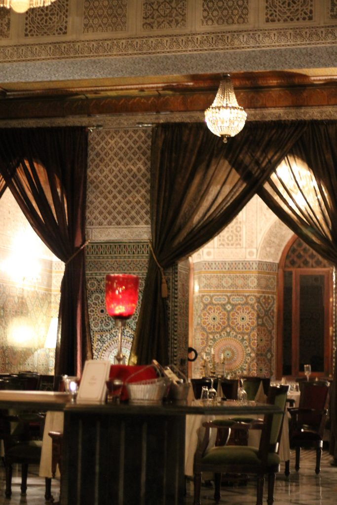 The Red House Restaurant Marrakech Morocco